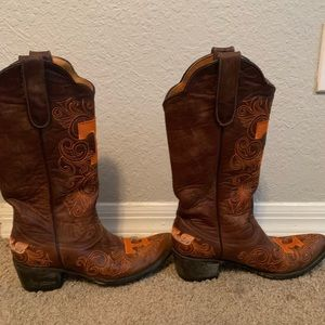 NCAA Shoes - Tennessee Volunteer Gameday cowgirl boots